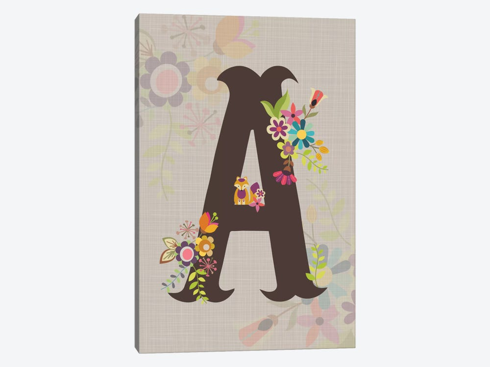 A by Valentina Harper 1-piece Canvas Art