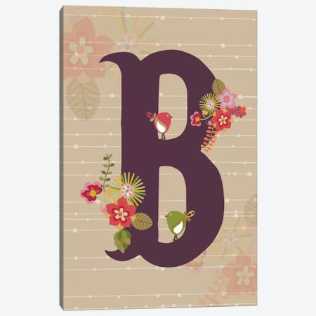 B Canvas Print #VAL105} by Valentina Harper Canvas Print