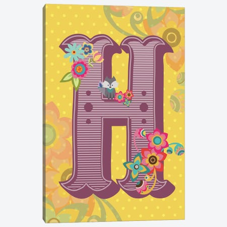 H Canvas Print #VAL111} by Valentina Harper Canvas Art Print