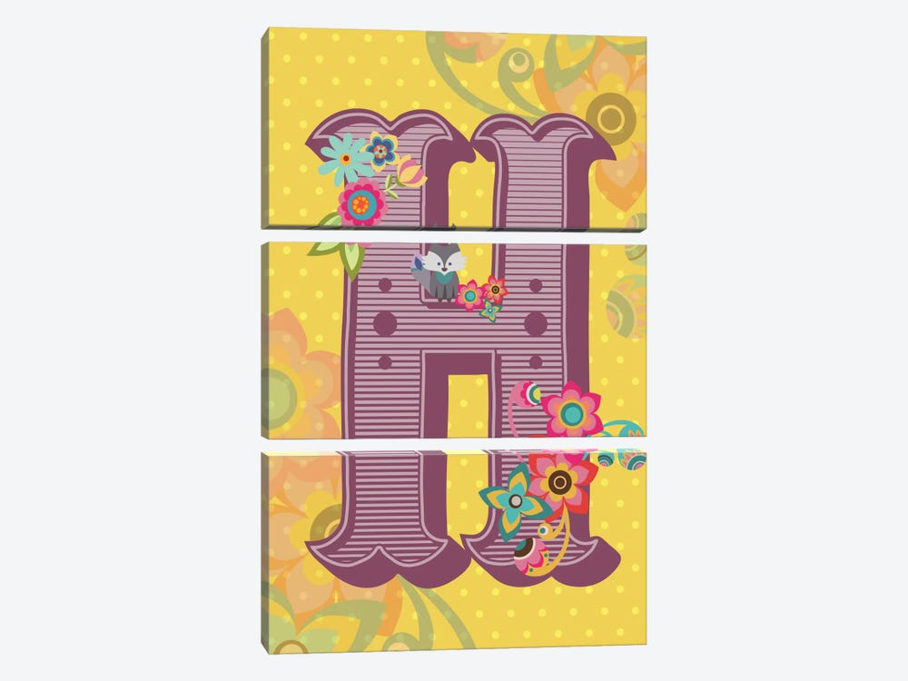 H by Valentina Harper 3-piece Canvas Artwork