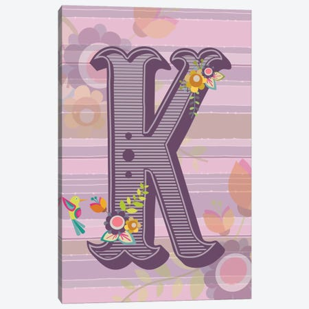 K Canvas Print #VAL114} by Valentina Harper Canvas Wall Art