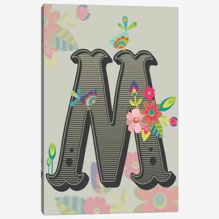 M Canvas Print #VAL116} by Valentina Harper Canvas Artwork