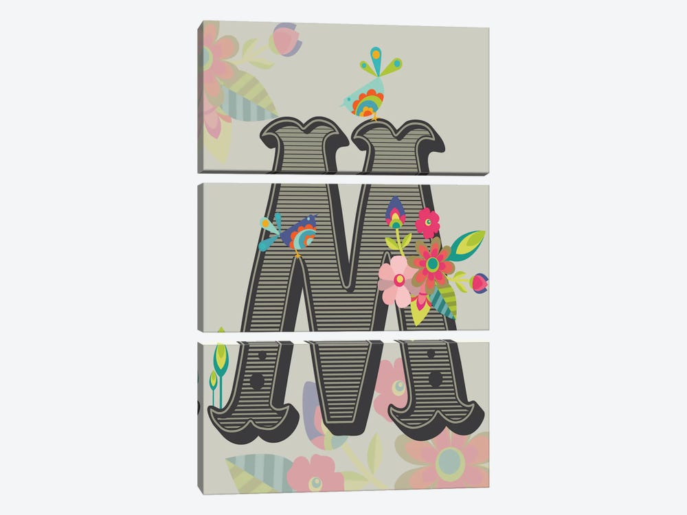 M by Valentina Harper 3-piece Canvas Print