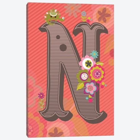 N Canvas Print #VAL117} by Valentina Harper Canvas Artwork