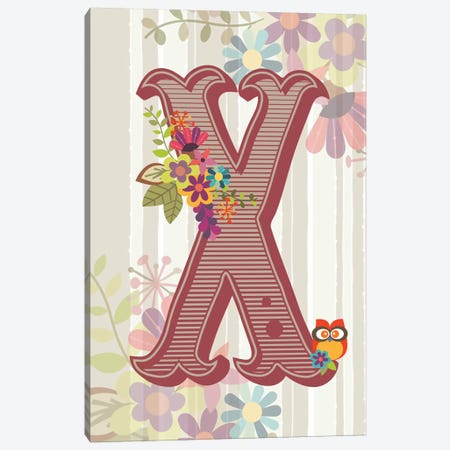 X Canvas Print #VAL127} by Valentina Harper Canvas Art Print