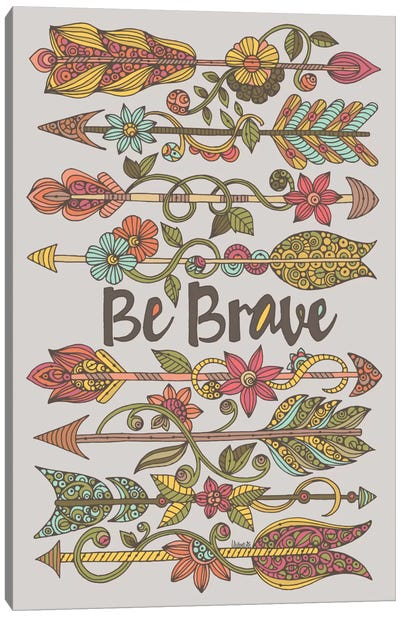 Be Brave II Canvas Art Print