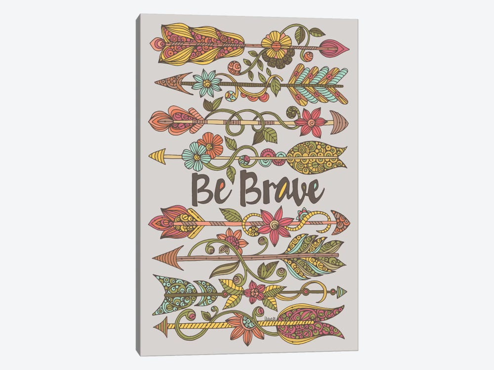 Be Brave II by Valentina Harper 1-piece Canvas Art