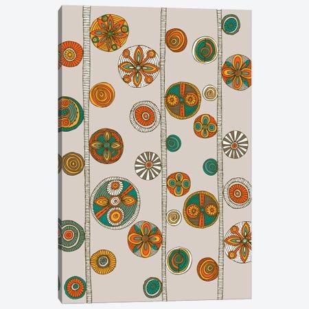 Folk Pattern I Canvas Print #VAL156} by Valentina Harper Canvas Art