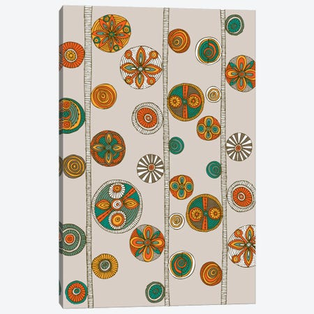 Folk Pattern I Canvas Print #VAL156} by Valentina Harper Canvas Art