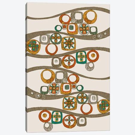 Folk Pattern II Canvas Print #VAL157} by Valentina Harper Canvas Art