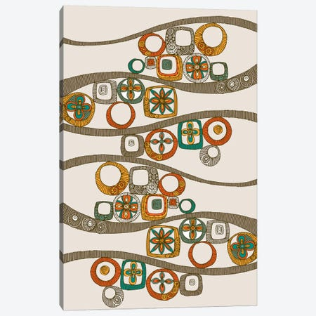 Folk Pattern II Canvas Print #VAL157} by Valentina Harper Canvas Art
