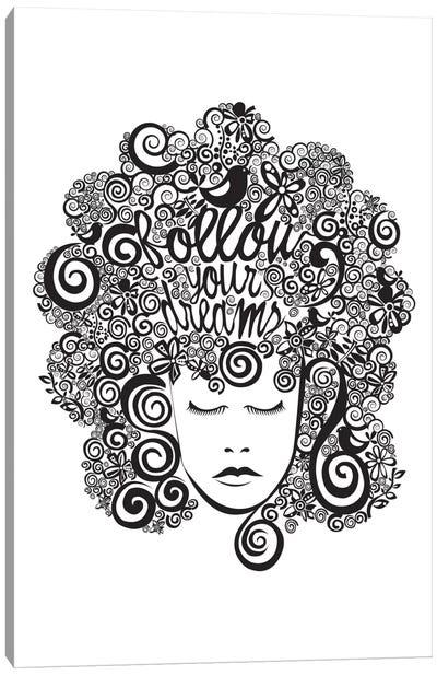 Follow Your Dreams I Canvas Print #VAL158
