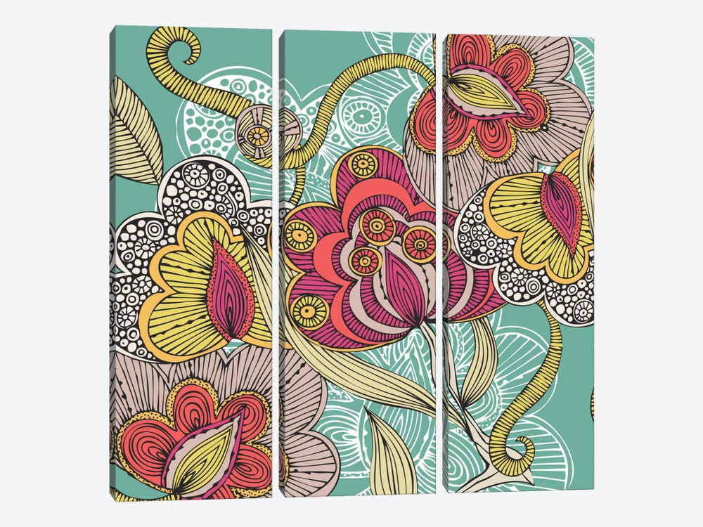 Beatriz by Valentina Harper 3-piece Canvas Art Print