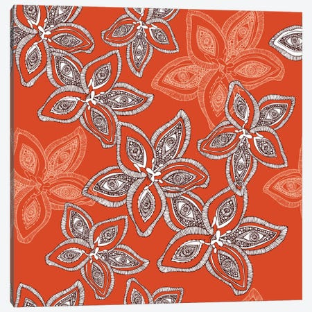 Hawaiian Pattern Canvas Print #VAL188} by Valentina Harper Canvas Artwork