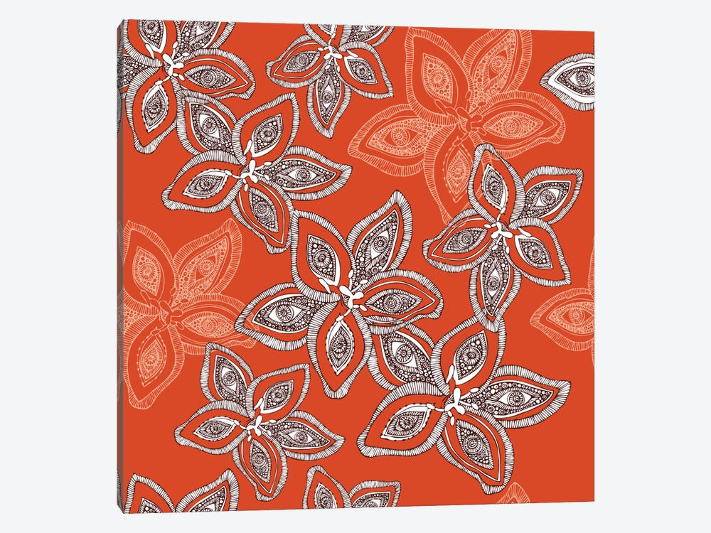 Hawaiian Pattern by Valentina Harper 1-piece Canvas Art
