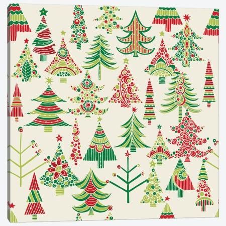 Holiday Tree I Canvas Print #VAL198} by Valentina Harper Canvas Art Print