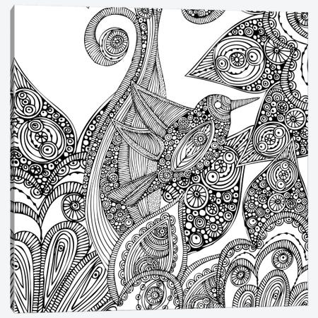 A Bird In Paradise I Canvas Print #VAL1} by Valentina Harper Art Print