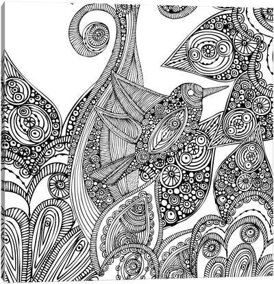 A Bird In Paradise I Canvas Print #VAL1