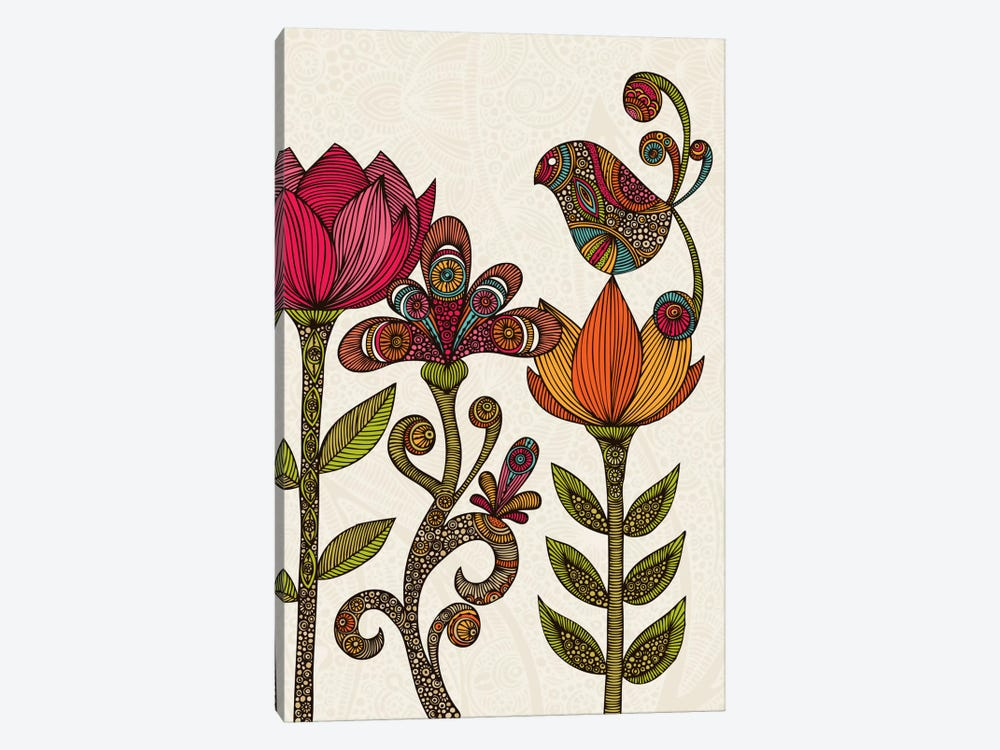In The Garden by Valentina Harper 1-piece Canvas Print