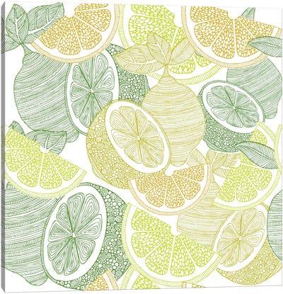 Lemons Canvas Print #VAL236