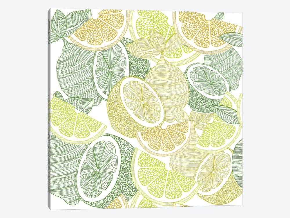 Lemons by Valentina Harper 1-piece Canvas Art Print