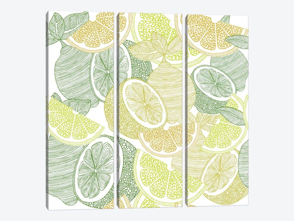 Lemons by Valentina Harper 3-piece Art Print