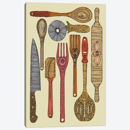 Let's Cook II Canvas Print #VAL242} by Valentina Harper Canvas Print