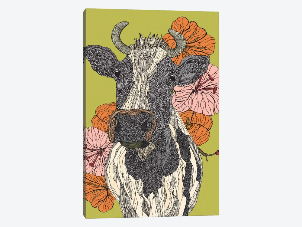 Moo by Valentina Harper 1-piece Canvas Print