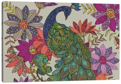 Peacock Puzzle Canvas Art Print