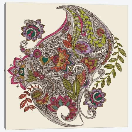 Random Flowers Canvas Print #VAL326} by Valentina Harper Art Print