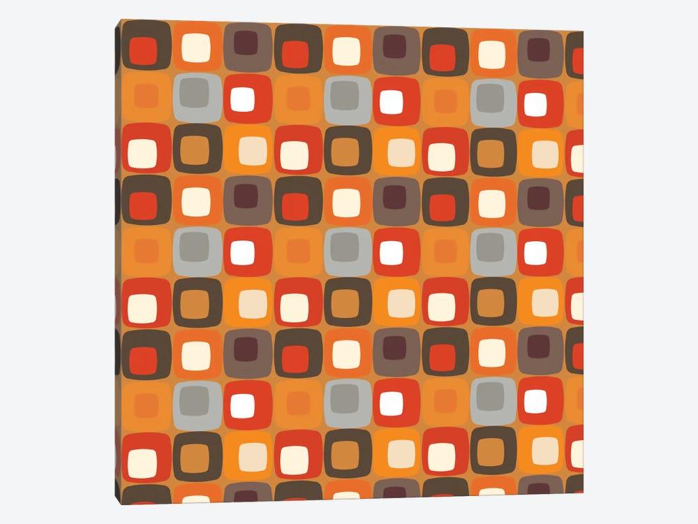 Retro Squares I by Valentina Harper 1-piece Canvas Art Print