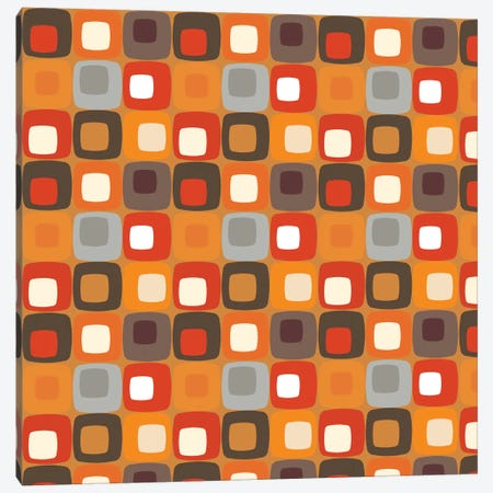 Retro Squares I Canvas Print #VAL333} by Valentina Harper Canvas Art Print