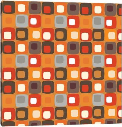 Retro Squares I Canvas Art Print