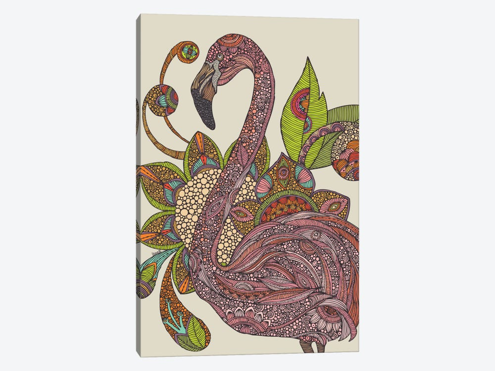 Royal Flamingo by Valentina Harper 1-piece Art Print