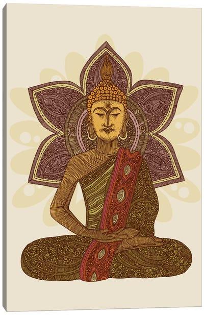 Sitting Buddha Canvas Print #VAL346