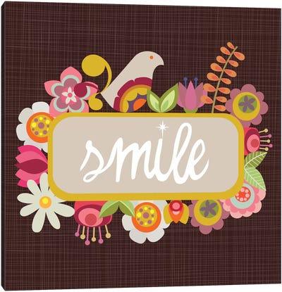 Smile Canvas Print #VAL347