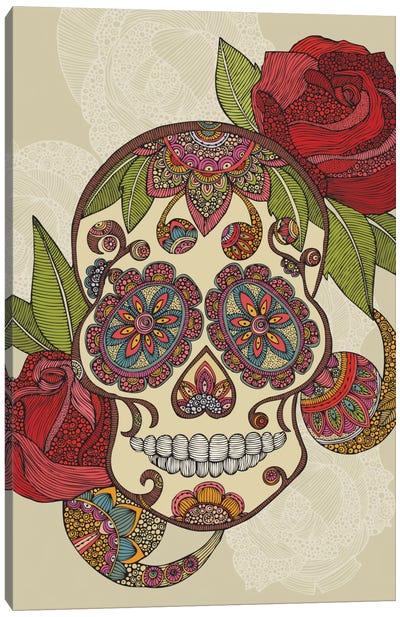 Sugar Skull Canvas Print #VAL366