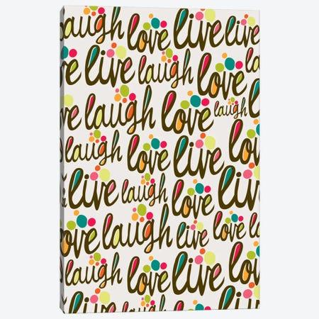 The 3 L's Canvas Print #VAL376} by Valentina Harper Canvas Artwork