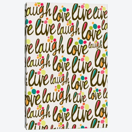The 3 L's Canvas Print #VAL376} by Valentina Harper Canvas Artwork