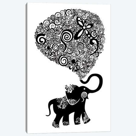 The Elephant Canvas Print #VAL379} by Valentina Harper Canvas Print