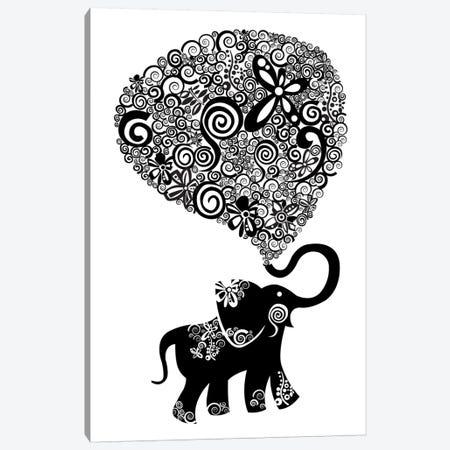 The Elephant Canvas Print #VAL379} by Valentina Harper Canvas Print