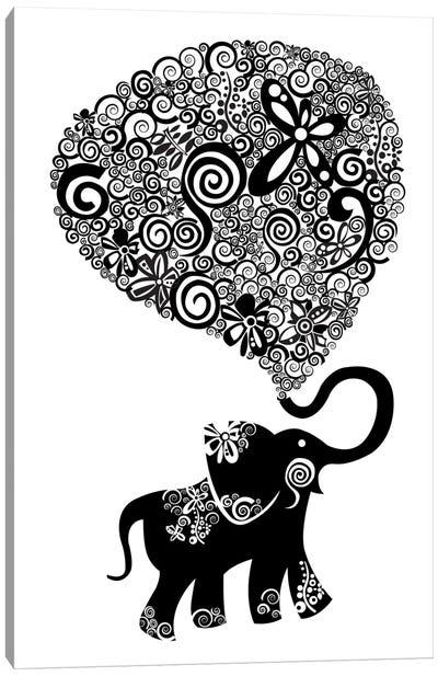 The Elephant Canvas Art Print
