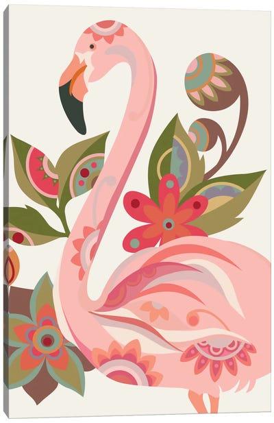 The Flamingo Canvas Art Print