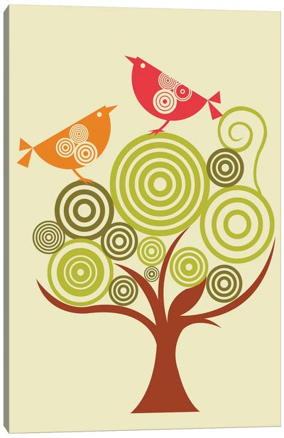 The Funky Tree Canvas Art Print