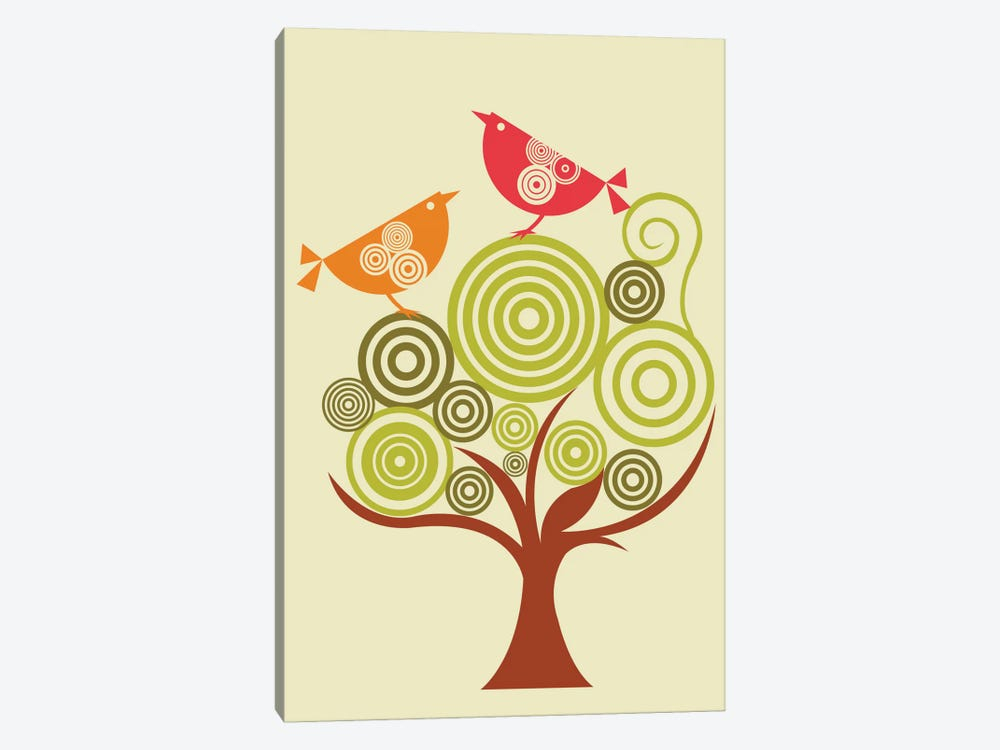The Funky Tree by Valentina Harper 1-piece Canvas Wall Art