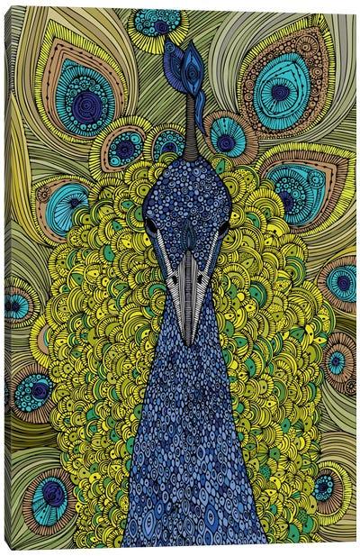 The Peacock Canvas Art Print