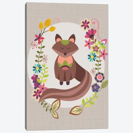 Brown Fox Canvas Print #VAL38} by Valentina Harper Canvas Art Print
