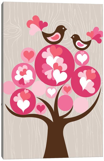 Treetop Love Canvas Art Print