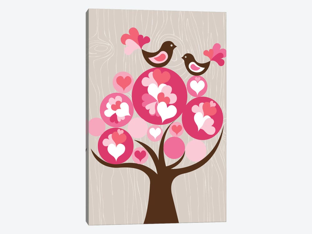 Treetop Love 1-piece Canvas Print