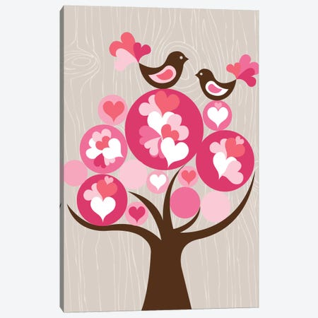 Treetop Love 3-Piece Canvas #VAL399} by Valentina Harper Canvas Art Print